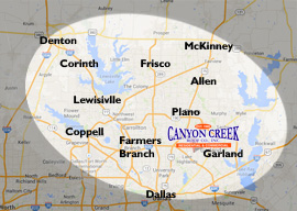 Serving Garland, Richardson, Plano, Frisco, Allen, Coppell, Lewisville, Denton